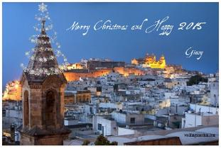 Christmas in Ostuni, wedding in Ostuni